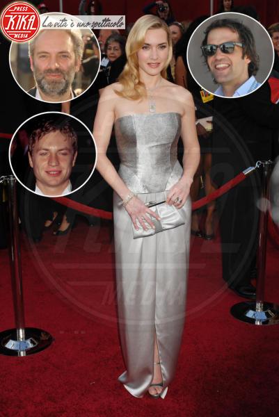 Jim Threapleton, Ned Rocknroll, Sam Mendes, Kate Winslet - Hollywood - 07-03-2010 - Famiglie vip: quanti padri per una sola mamma