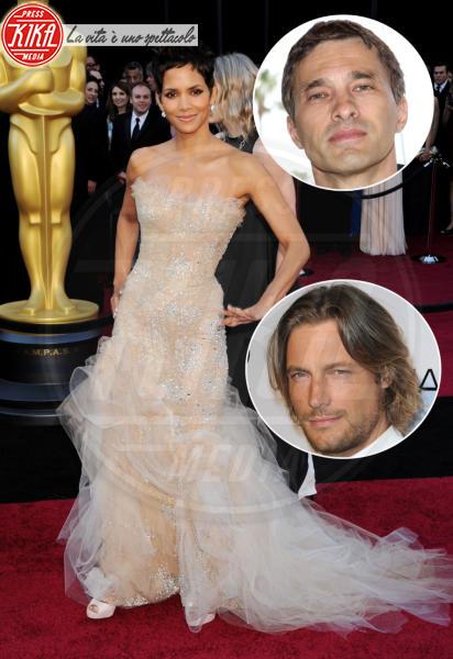 Gabriel Aubry, Olivier Martinez, Halle Berry - Hollywood - 27-02-2011 - Famiglie vip: quanti padri per una sola mamma