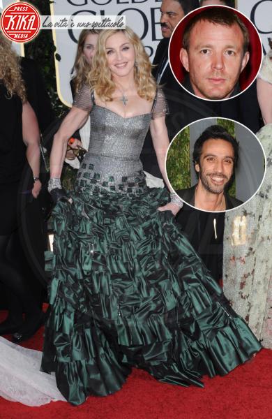 Guy Ritchie, Carlos Leon, Madonna - Beverly Hills - 15-01-2012 - Famiglie vip: quanti padri per una sola mamma