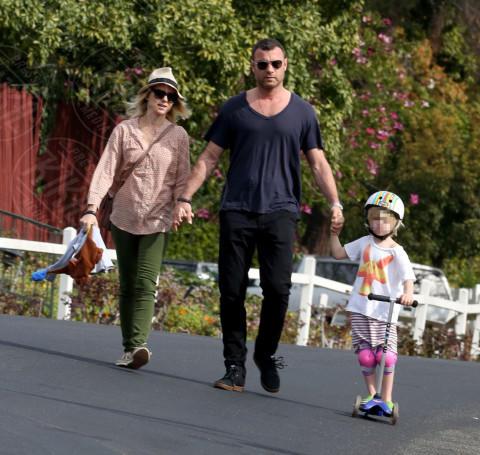 figli, Samuel Schreiber, Alexander Schreiber, Liev Schreiber, Naomi Watts - Brentwood - 15-02-2014 - Naomi Watts e Liev Schreiber, addio dopo 11 anni