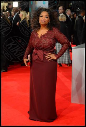 Oprah Winfrey - Londra - 16-02-2014 - Bafta 2014: i Brangelina in doppio smoking