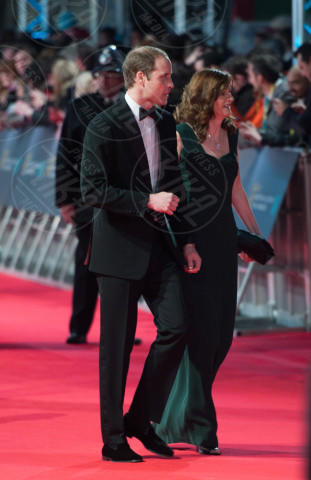 Principe William - Londra - 16-02-2014 - Bafta 2014: i Brangelina in doppio smoking