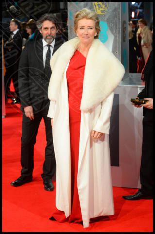 Emma Thompson - Londra - 16-02-2014 - Bafta 2014: i Brangelina in doppio smoking