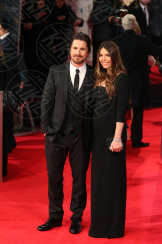 Sibi Blazic, Christian Bale - Londra - 16-02-2014 - Bafta 2014: i Brangelina in doppio smoking