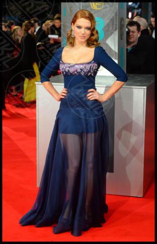 Lea Seydoux - Londra - 16-02-2014 - Bafta 2014: i Brangelina in doppio smoking