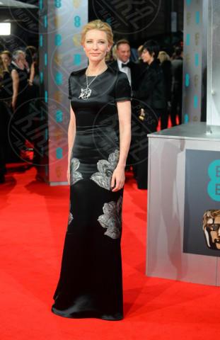 Cate Blanchett - Londra - 16-02-2014 - Bafta 2014: i Brangelina in doppio smoking