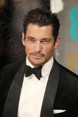 David Gandy - Londra - 16-02-2014 - Bafta 2014: i Brangelina in doppio smoking