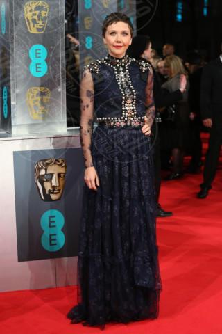 Maggie Gyllenhaal - Londra - 16-02-2014 - Bafta 2014: i Brangelina in doppio smoking