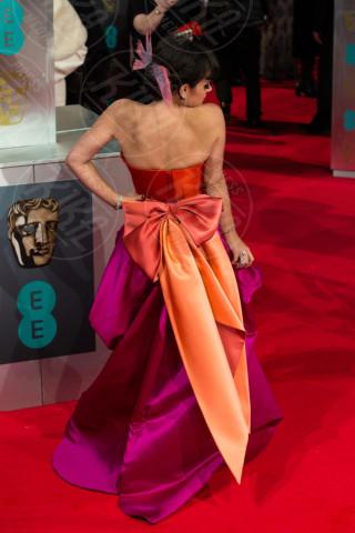 Lily Allen - Londra - 16-02-2014 - Bafta 2014: i Brangelina in doppio smoking
