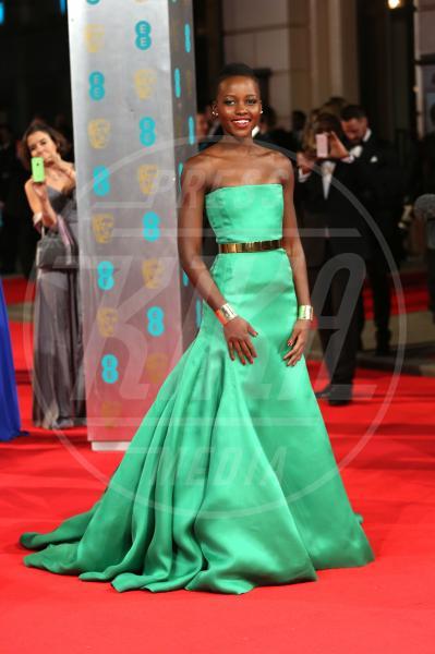 Lupita Nyong'o - Londra - 16-02-2014 - Vade retro abito! Le scelte delle star ai BAFTA 2014