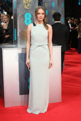 Laura Haddock - Londra - 16-02-2014 - Vade retro abito! Le scelte delle star ai BAFTA 2014