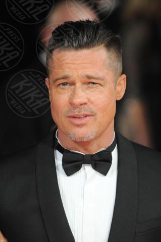 Brad Pitt - Londra - 16-02-2014 - Bafta 2014: i Brangelina in doppio smoking