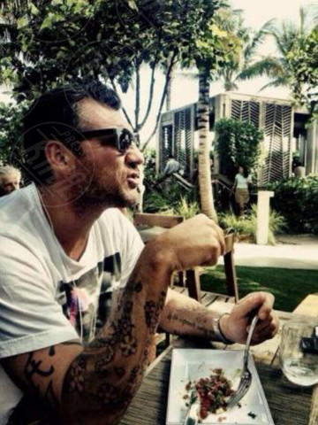 Christian Vieri - Los Angeles - 17-02-2014 - Dillo con un tweet: Vieri-Galante: gli ex belli del calcio