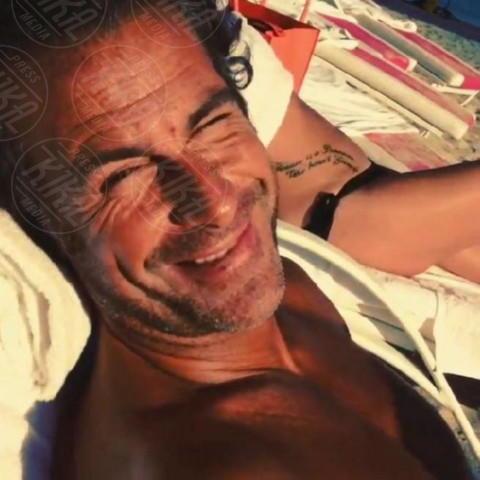 Fabio Galante - Los Angeles - 17-02-2014 - Dillo con un tweet: Vieri-Galante: gli ex belli del calcio