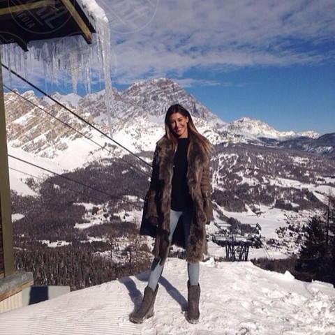 Belen Rodriguez - Los Angeles - 17-02-2014 - Dillo con un tweet: Vieri-Galante: gli ex belli del calcio