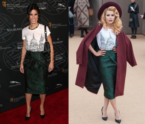 Paloma Faith, Sandra Bullock - 17-02-2014 - Sandra Bullock e Paloma Faith: chi lo indossa meglio?