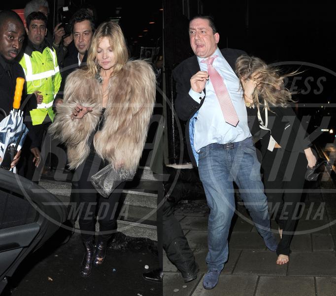 Cara Delevingne, Kate Moss - Londra - 18-02-2014 - Cara Delevingne e Kate Moss unite dalla passione per l'alcol