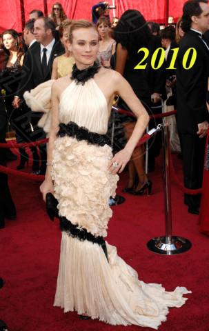 Diane Kruger - Hollywood - 07-03-2010 - Oscar dell'eleganza 2010-2014: 5 anni di best dressed