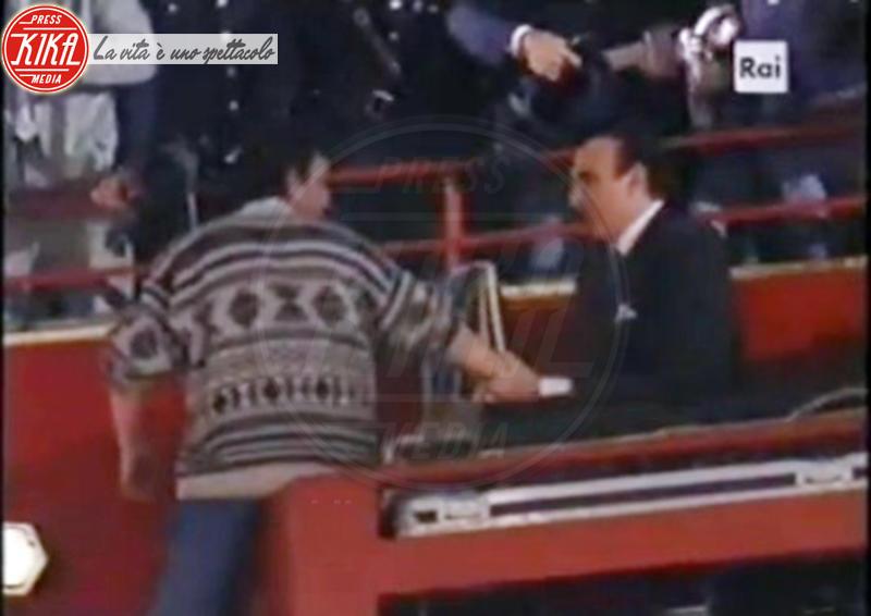Sanremo - 09-02-1995 - Sanremo: tutti i cavalli pazzi dell'Ariston