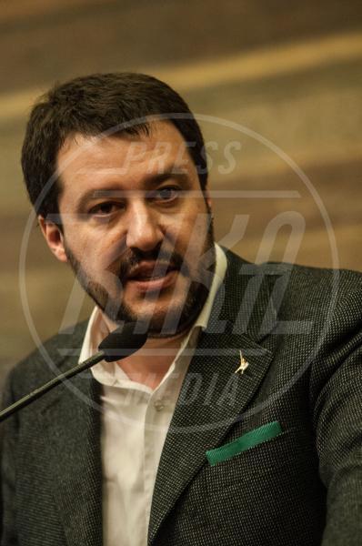 Matteo Salvini - Roma - 18-02-2014 - Elisa Isoardi e Matteo Salvini stanno insieme