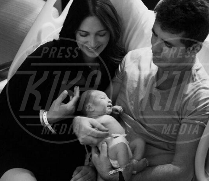 Eric Cowell, Lauren Silverman, Simon Cowell - Los Angeles - 18-02-2014 - I neonati diventano star in rete grazie al Childbirth-selfie