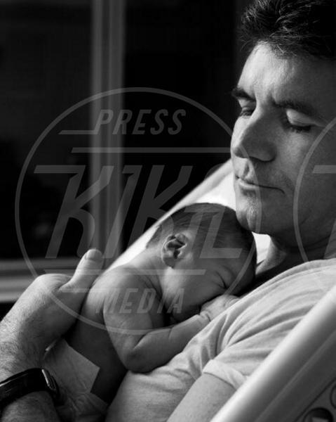 Eric Cowell, Simon Cowell - Los Angeles - 18-02-2014 - Childbirth-selfie: un altro tipo di autoscatto contagia i vip