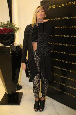 Giulia Calcaterra - Milano - 19-02-2014 - Milano Fashion Week: Nina Moric in versione Morticia Addams