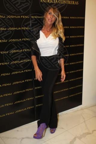Guendalina Canessa - Milano - 19-02-2014 - Milano Fashion Week: Nina Moric in versione Morticia Addams