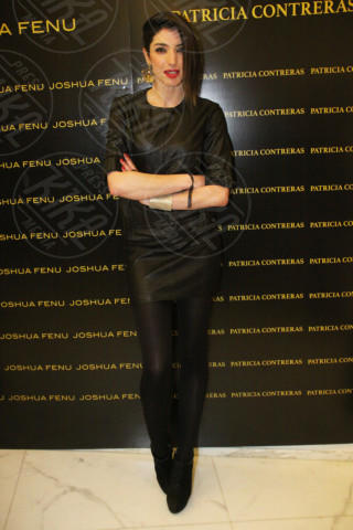 Margherita Zanatta - Milano - 19-02-2014 - Milano Fashion Week: Nina Moric in versione Morticia Addams