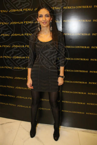 Milano - 19-02-2014 - Milano Fashion Week: Nina Moric in versione Morticia Addams