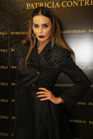 Nina Moric - Milano - 19-02-2014 - Milano Fashion Week: Nina Moric in versione Morticia Addams