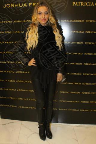 Alessia Tedeschi - Milano - 19-02-2014 - Milano Fashion Week: Nina Moric in versione Morticia Addams