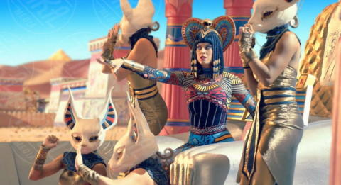 Katy Perry - Los Angeles - 20-02-2014 - Wonder Woman bannato in Libano: la censura colpisce ancora