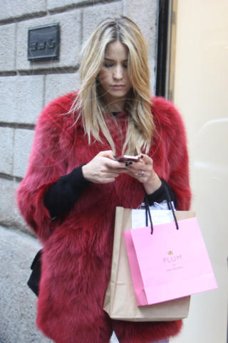 Elena Santarelli - Milano - 20-02-2014 - Gli smartphone influenzeranno l'evoluzione dell'uomo