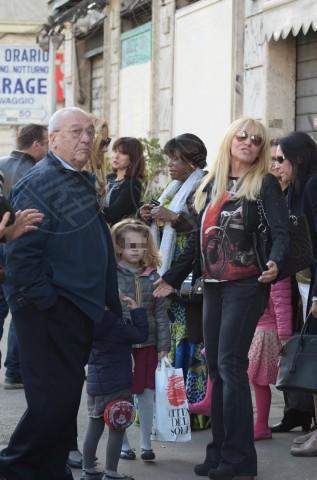 Maelle Martens, Eddy Martens, Antonella Clerici - Roma - 21-02-2014 - Il puzzle della vita di Antonella Clerici si è ricomposto