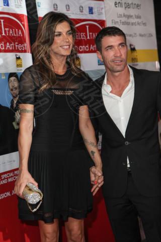 Brian Perri, Elisabetta Canalis - Los Angeles - 24-02-2014 - Los Angeles Italia: prima serata con Elisabetta Canalis