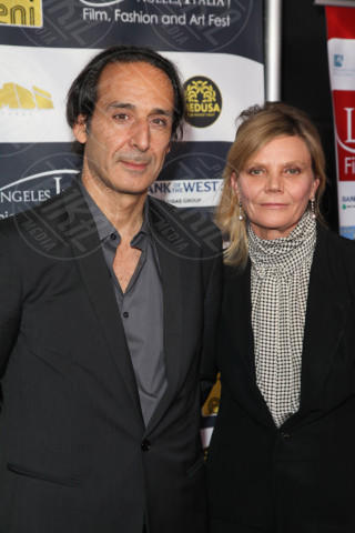 Alina Cheralu, Alexander Desplat - Los Angeles - 24-02-2014 - Los Angeles Italia: prima serata con Elisabetta Canalis