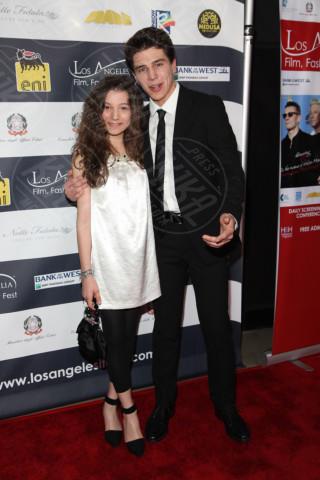 Michael Grant Terry, sorella - Los Angeles - 24-02-2014 - Los Angeles Italia: prima serata con Elisabetta Canalis