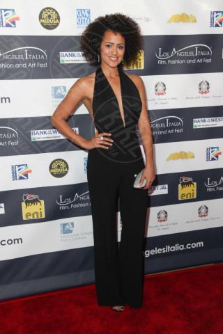 Natalie Emanuel - Los Angeles - 24-02-2014 - Los Angeles Italia: prima serata con Elisabetta Canalis
