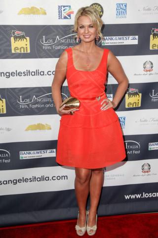 Angelina Rose Troy - Los Angeles - 24-02-2014 - Los Angeles Italia: prima serata con Elisabetta Canalis