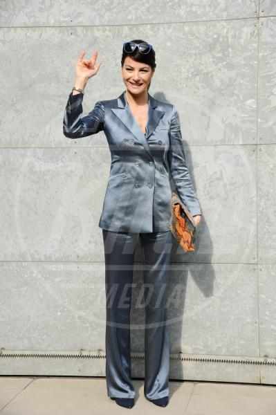 Ilaria d'Amico - Milano - 21-02-2014 - Le celebrities in rosa vogliono i pantaloni