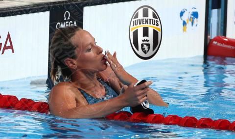 Federica Pellegrini - Barcellona - 30-08-2013 - Federica Pellegrini, è tutto oro quello che luccica!