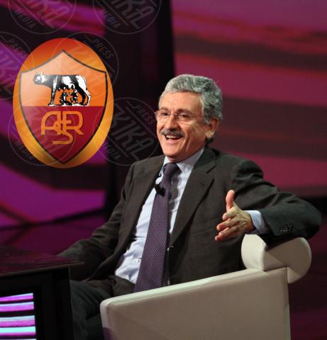 Massimo D'Alema - 23-12-2012 - Quando il tifo lo fanno le celebrity