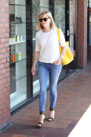 Reese Witherspoon - Los Angeles - 25-02-2014 - Il giallo, un trend perchè torni a splendere il sole