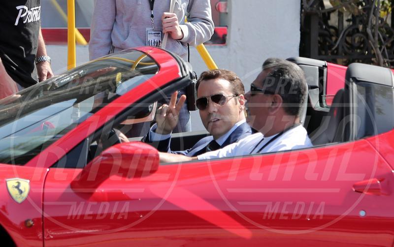 Liam Neeson, Jeremy Piven - Los Angeles - 25-02-2014 - A Hollywood sono tutti matti per la Ferrari