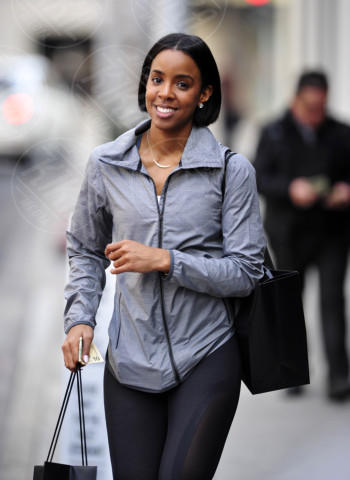 Kelly Rowland - Los Angeles - 27-02-2014 - Kelly Rowland è incinta del suo primo figlio