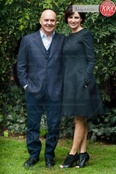Luca Zingaretti, Luisa Ranieri - Roma - 27-02-2014 - Luisa Ranieri è la madrina della Mostra di Venezia