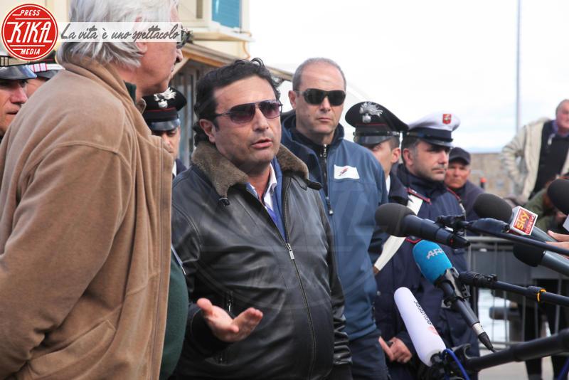 Francesco Schettino - Isola del Giglio - 27-02-2014 - Costa Concordia, cinque anni fa la tragedia all'Isola del Giglio
