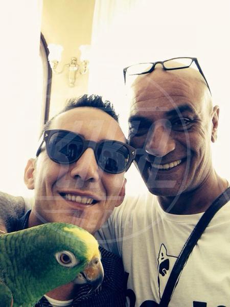 Francesco Lombardi, Ghyblj, Kekko - amore - Sanremo - 22-02-2014 - Diario di Amore, il pappagallo del Papa, da Sanremo