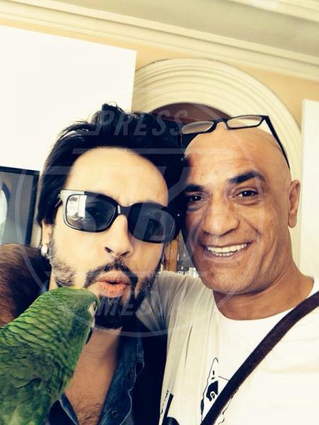 Francesco Lombardi, Ghyblj, Francesco Sarcina - amore - Sanremo - 22-02-2014 - Diario di Amore, il pappagallo del Papa, da Sanremo